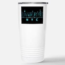Digital Cityscape: New Stainless Steel Travel Mug