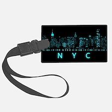 Digital Cityscape: New York City Luggage Tag