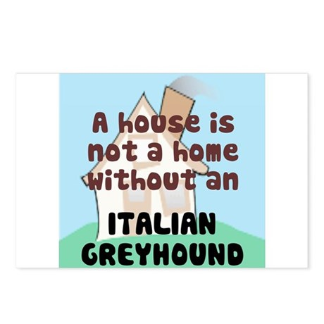 Iggy Home Postcards (Package of 8)