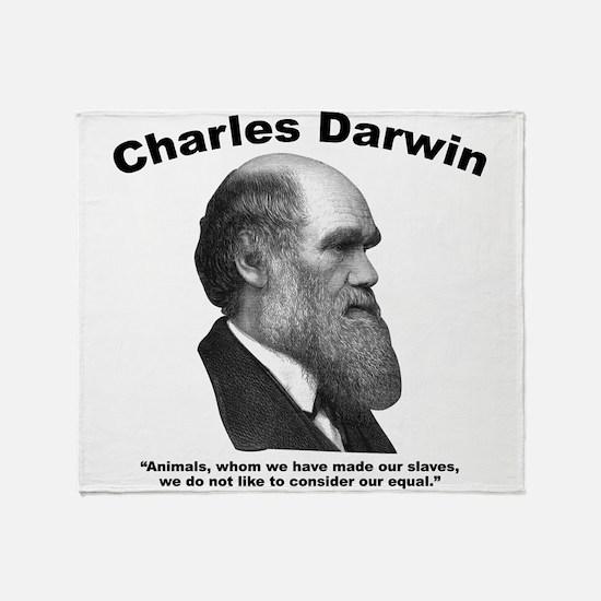 Darwin: Animals Throw Blanket