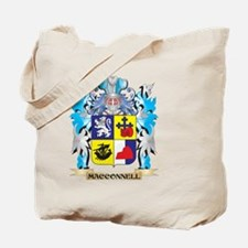 Macconnell Coat of Arms - Family Crest Tote Bag
