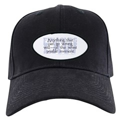 Finagle's Law Baseball Hat