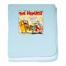 The Hepcats baby blanket