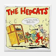 The Hepcats Tile Coaster