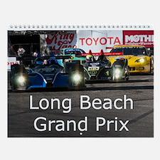 Long Beach Grand Prix Racing Wall Calendar