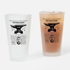 Acme Pike Ad B&w Drinking Glass