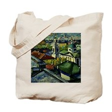 Mashkov - View of Moscow, Myasnitsky Dist Tote Bag