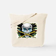 Skull Crossbones Pencils Tote Bag