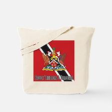 Proudly Trinidad & Tabago Tote Bag