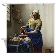 Kitchen Maid Shower Curtain