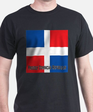 Proudly Dominican Republic T-Shirt