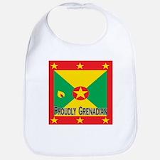 Proudly Grenadian Bib