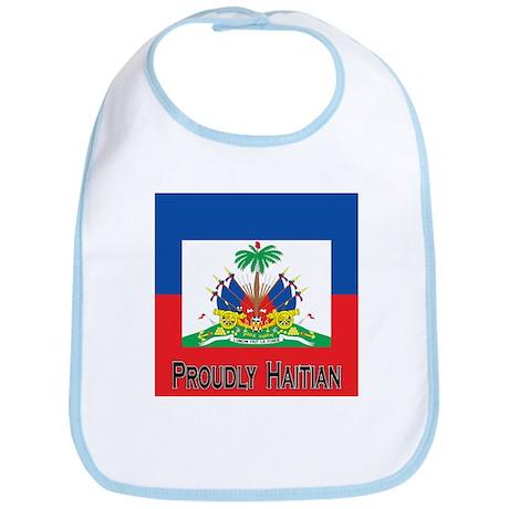 Proudly Haitian Bib