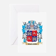 Macleod Coat of Arms - Family Crest Greeting Cards