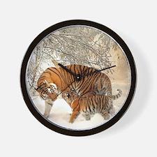 Tiger_2015_0126 Wall Clock