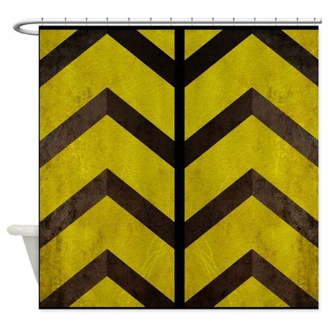 black and yellow shower curtain by admin cp114807468. Black Bedroom Furniture Sets. Home Design Ideas