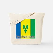 St Vincent & Grenadines Tote Bag