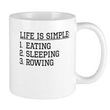 Life Is Simple: Rowing Mugs