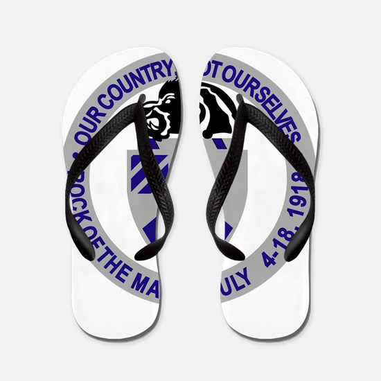 1st Battalion 30th Infantry.png Flip Flops