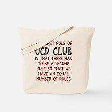 First rule of OCD Club Tote Bag