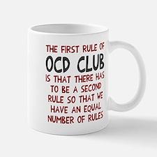 First rule of OCD Club Mug