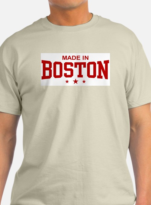 Made In Boston T Shirts Shirts Tees Custom Made In
