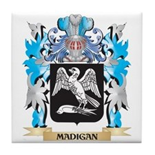 Madigan Coat of Arms - Family Crest Tile Coaster