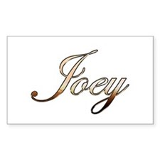 Gold Joey Decal