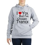 I've Chosen Trance Women's Hooded Sweatshirt
