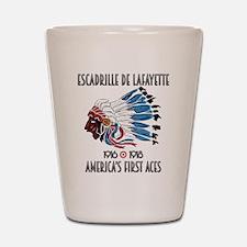 Lafayette Escadrille Shot Glass