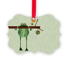 Of Trees And Frogs Ornament