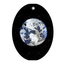 Global Porcelain Keepsake (Oval)