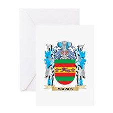 Magnus Coat of Arms - Family Crest Greeting Cards