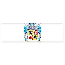 Mahoney Coat of Arms - Family Crest Bumper Bumper Sticker