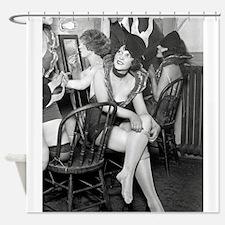 Showgirls Backstage, 1926 Shower Curtain