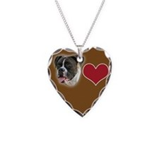 Boxer Heart Necklace
