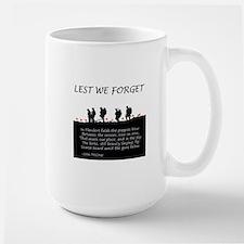 WWI Remembrance Mug