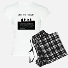 WWI Remembrance Pajamas