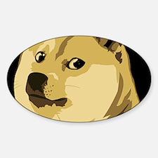 Cute Meme Sticker (Oval)