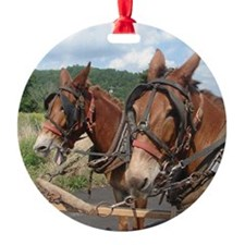 Two Mules for Sister Sue Ornament