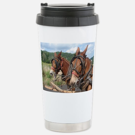 Two Mules for Sister Su Stainless Steel Travel Mug