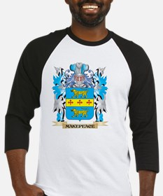 Makepeace Coat of Arms - Family Cr Baseball Jersey
