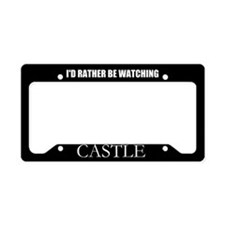 Rather Castle License Plate Holder