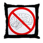 The No Brain Throw Pillow