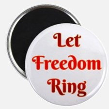 Let Freedom Ring Magnets
