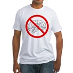The No Brain Fitted T-Shirt