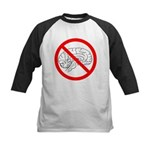 The No Brain Kids Baseball Jersey