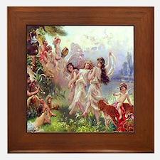 Joy In Paradise ! Arcadia Framed Tile