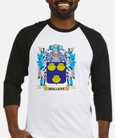 Mallett Coat of Arms - Family Cres Baseball Jersey