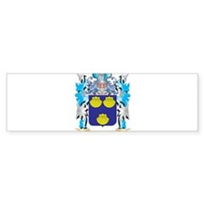 Mallett Coat of Arms - Family Crest Bumper Bumper Sticker